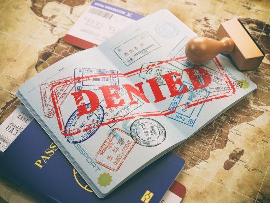 paspoort geweigerd alternatief